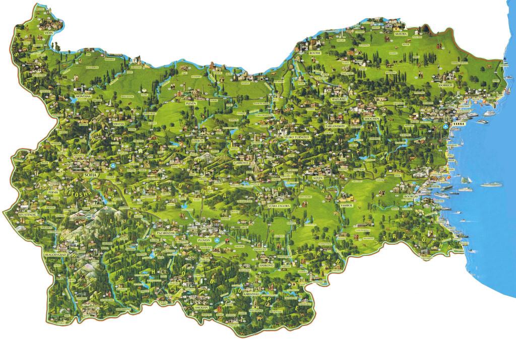 Варианты отдыха в Болгарии