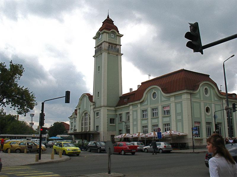 Железнодорожный вокзал в Бургасе был построен одним из первых в Болгарии