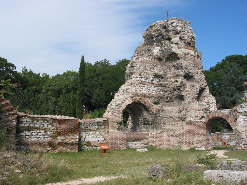 Варненские римские термы включают самое большое античное здание в современной Болгарии