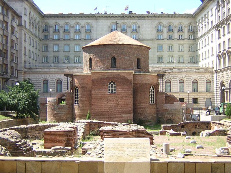 Ротонда Святого Георгия - самая старая церковь в Софии